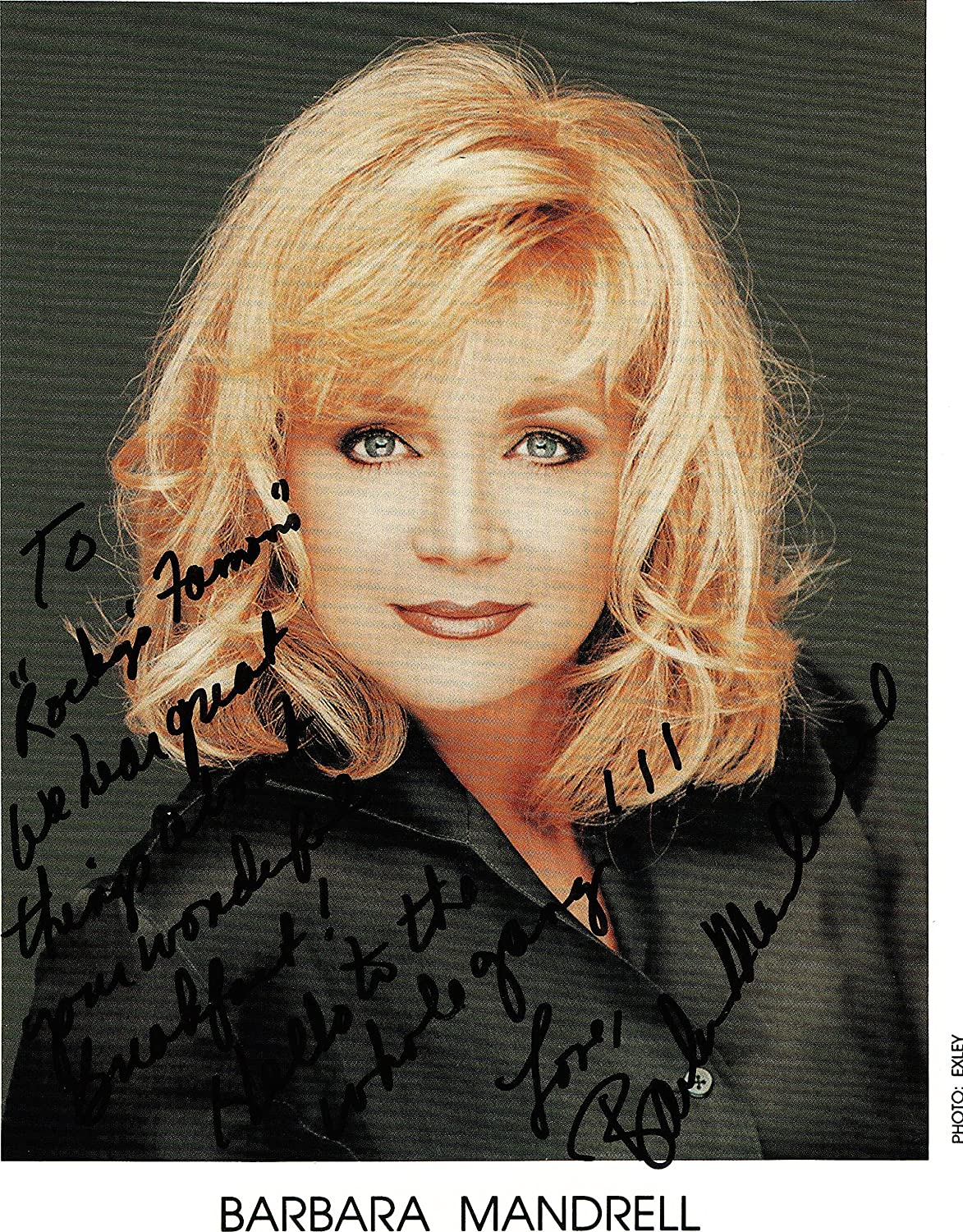 Discussion on this topic: Jeanne Carmen, barbara-mandrell/