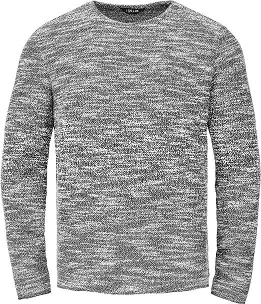 SOLID Herren Strick Pullover TIMO Sweatshirt Sweater O Neck Rundhals Ausschnitt