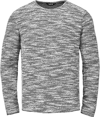 ec25b8ff3b55 SOLID Herren Strick Pullover TIMO Sweatshirt Sweater O-Neck Rundhals-Ausschnitt,  Farbe
