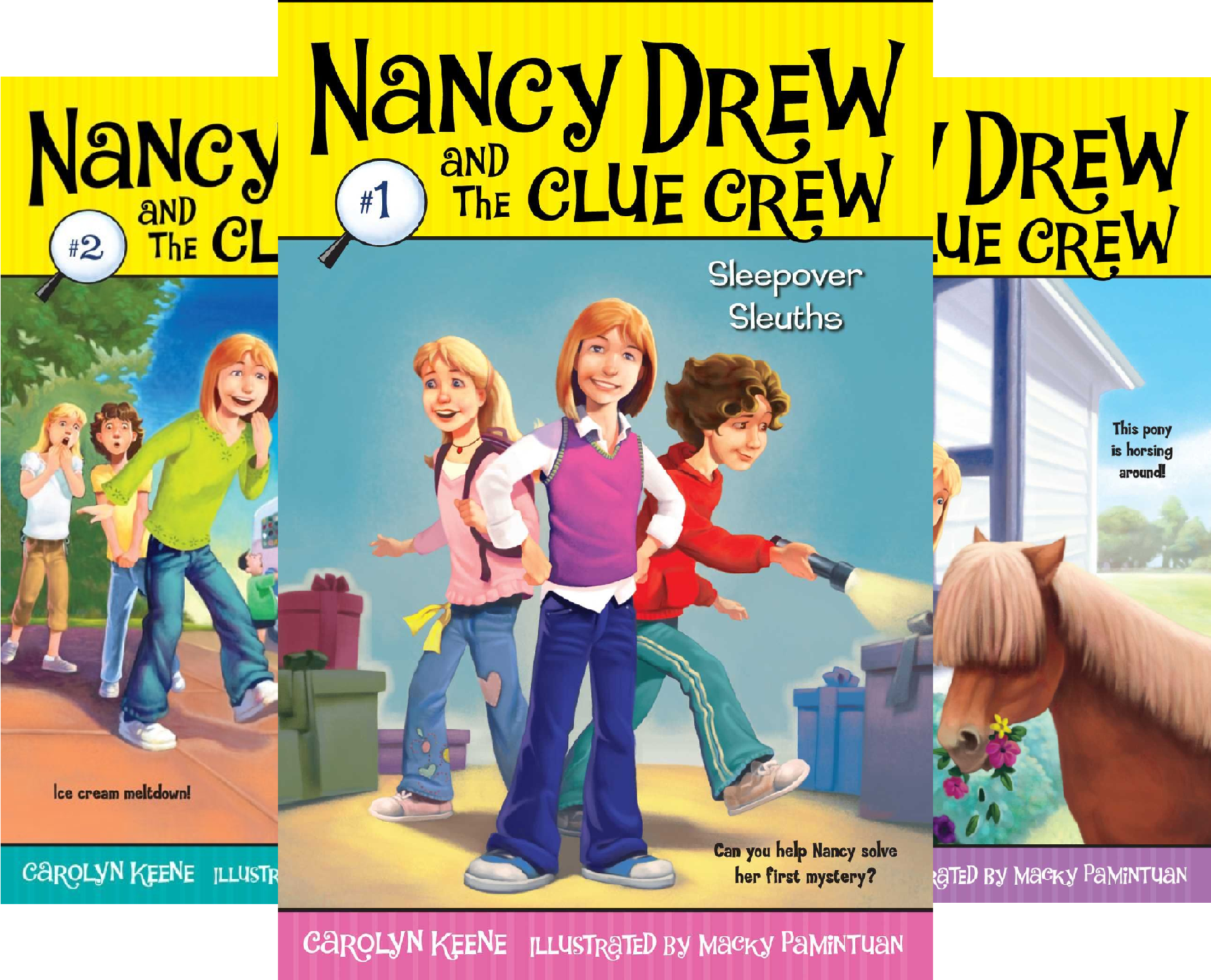 Nancy Drew and the Clue Crew (40 Book Series) ()