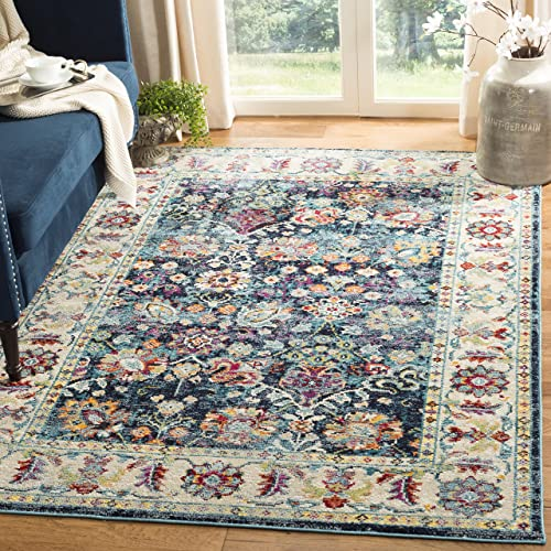 Safavieh Savannah Collection SVH680B Area Rug, 11 x 16 , Navy Blue