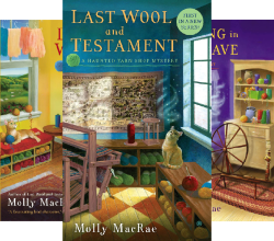 A Haunted Yarn Shop Mystery (4 Book Series) by  Molly MacRae