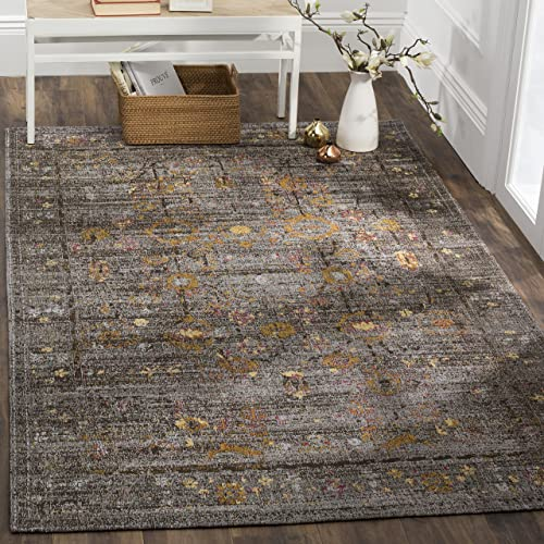 Safavieh Classic Vintage Collection Area Rug, 5 x 8 , Grey Gold
