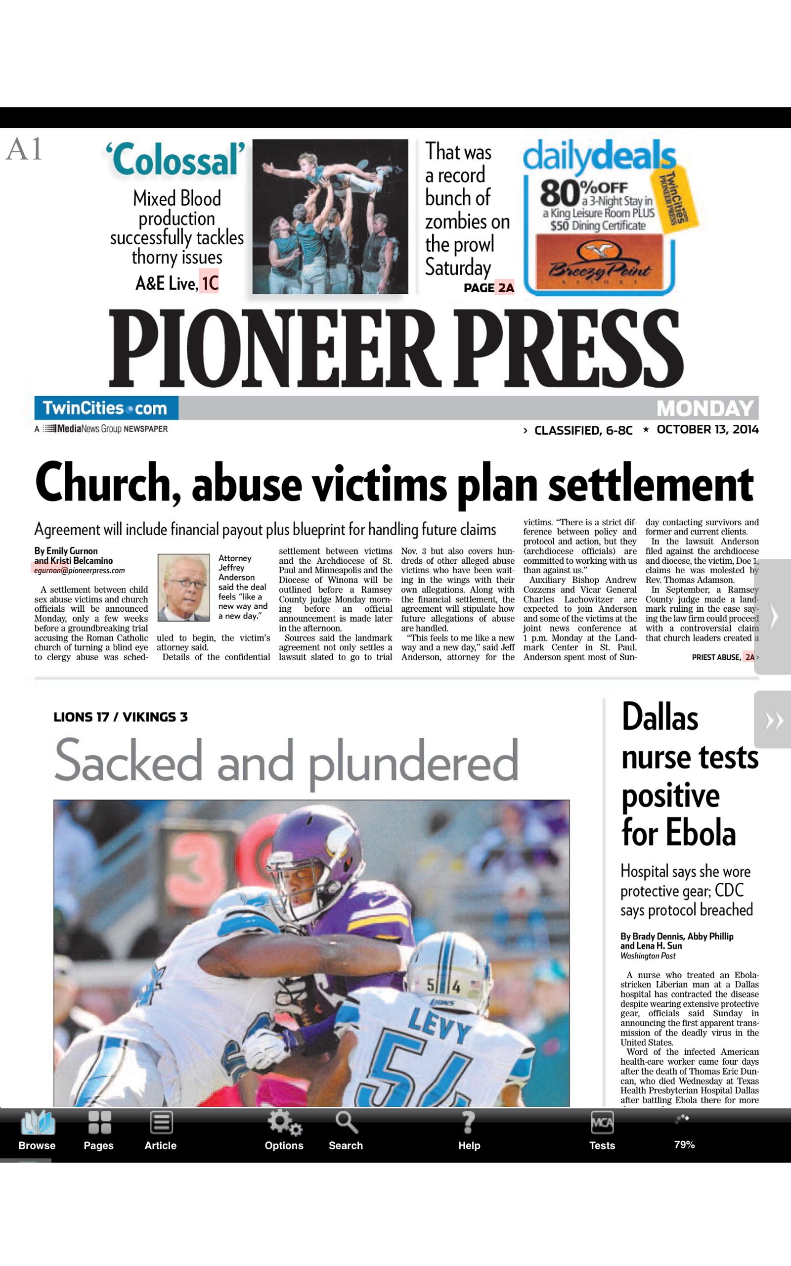 Pioneer Press Recent Obituaries: All of Pioneer Press ...