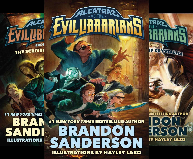 Alcatraz Versus the Evil Librarians (5 Book Series) (Brandon Sanderson Alcatraz Versus The Evil Librarians)