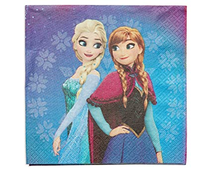 Amazon american greetings frozen magic lunch napkins 16 count american greetings frozen magic lunch napkins 16 count m4hsunfo