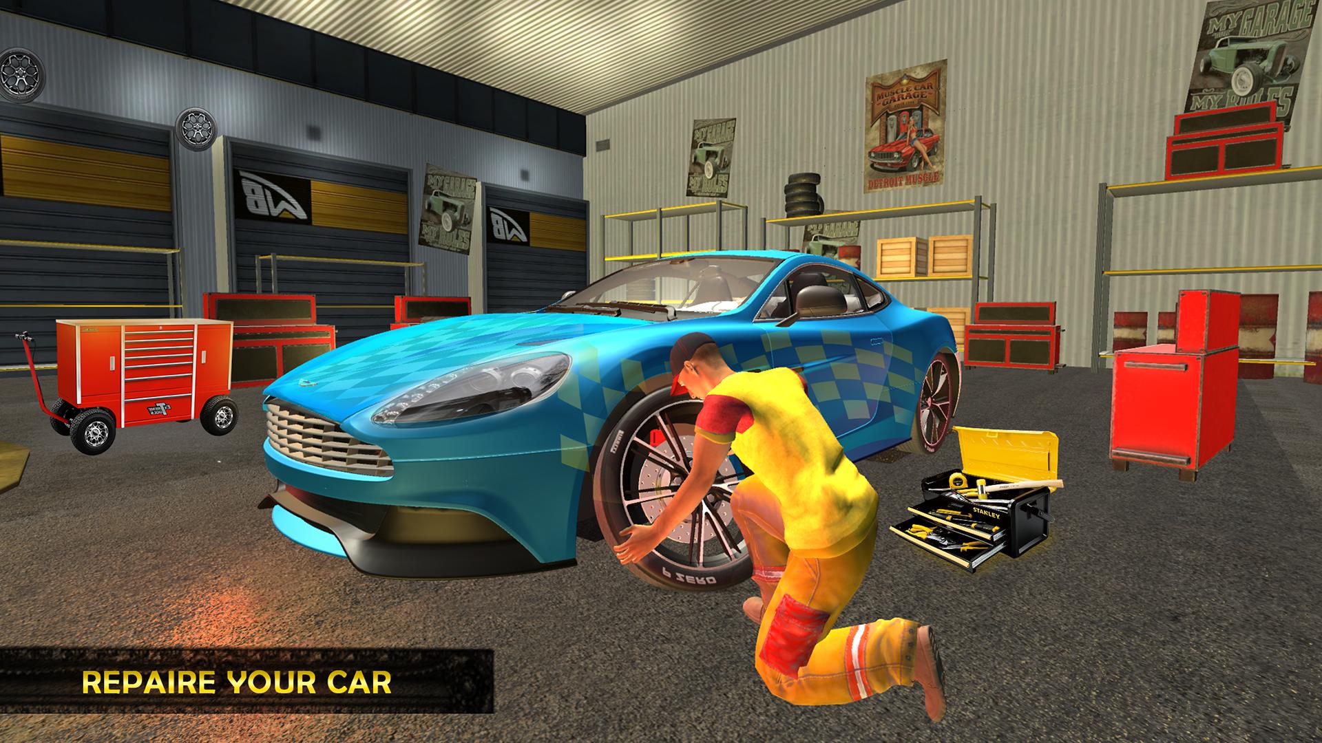 Amazon Car Mechanic Simulator 2018 Service Station Game