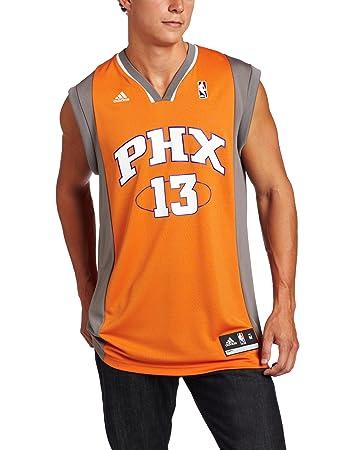 08d3f95ec adidas NBA Men s Phoenix Suns Steve Nash Revolution 30 Alternate Replica  Jersey (Orange