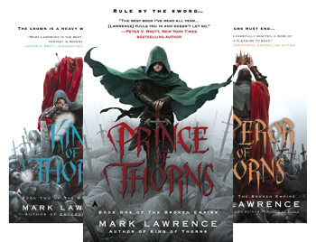 BROKEN EMPIRE by Mark Lawrence