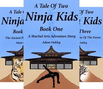 A Tale Of Two Ninja Kids (4 book series) Kindle Edition