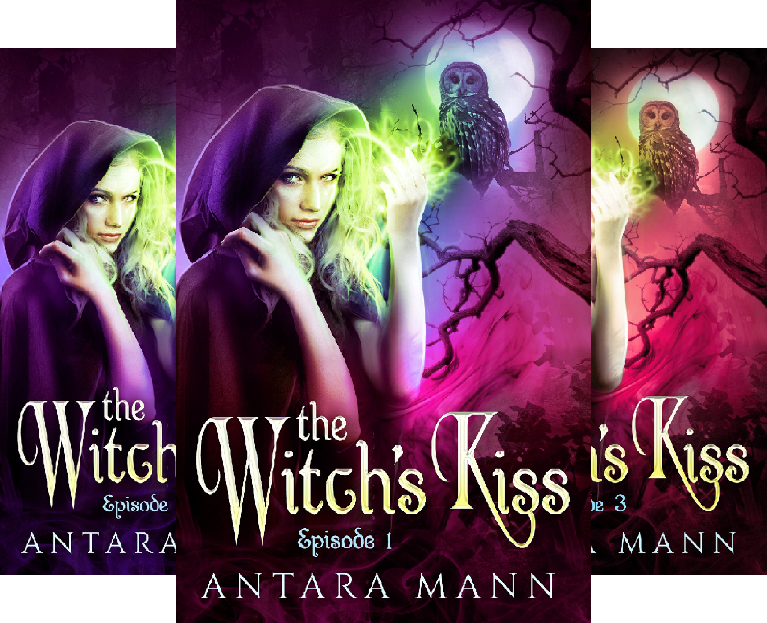 - The Witch's Kiss (3 Book Series)