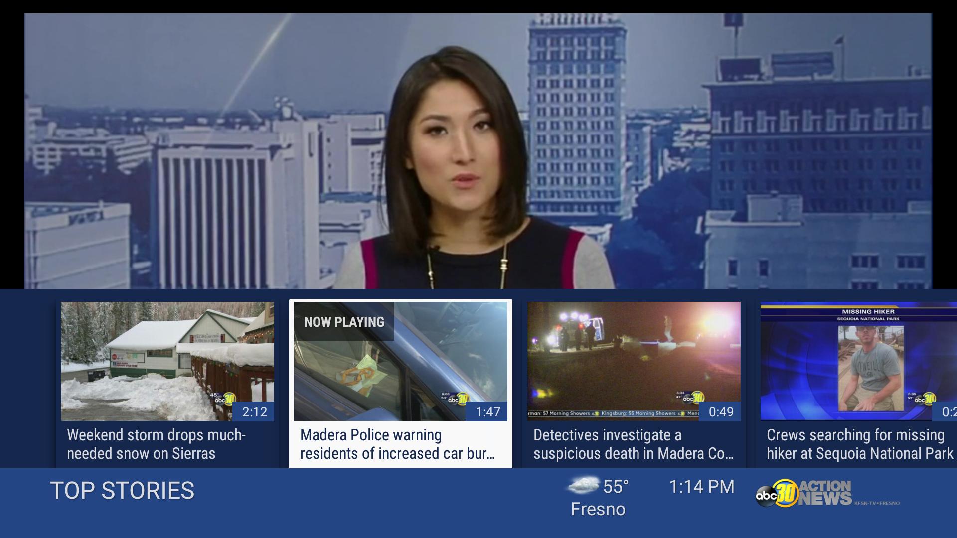 Amazon Com Abc30 Fresno Local News Amp Weather Appstore