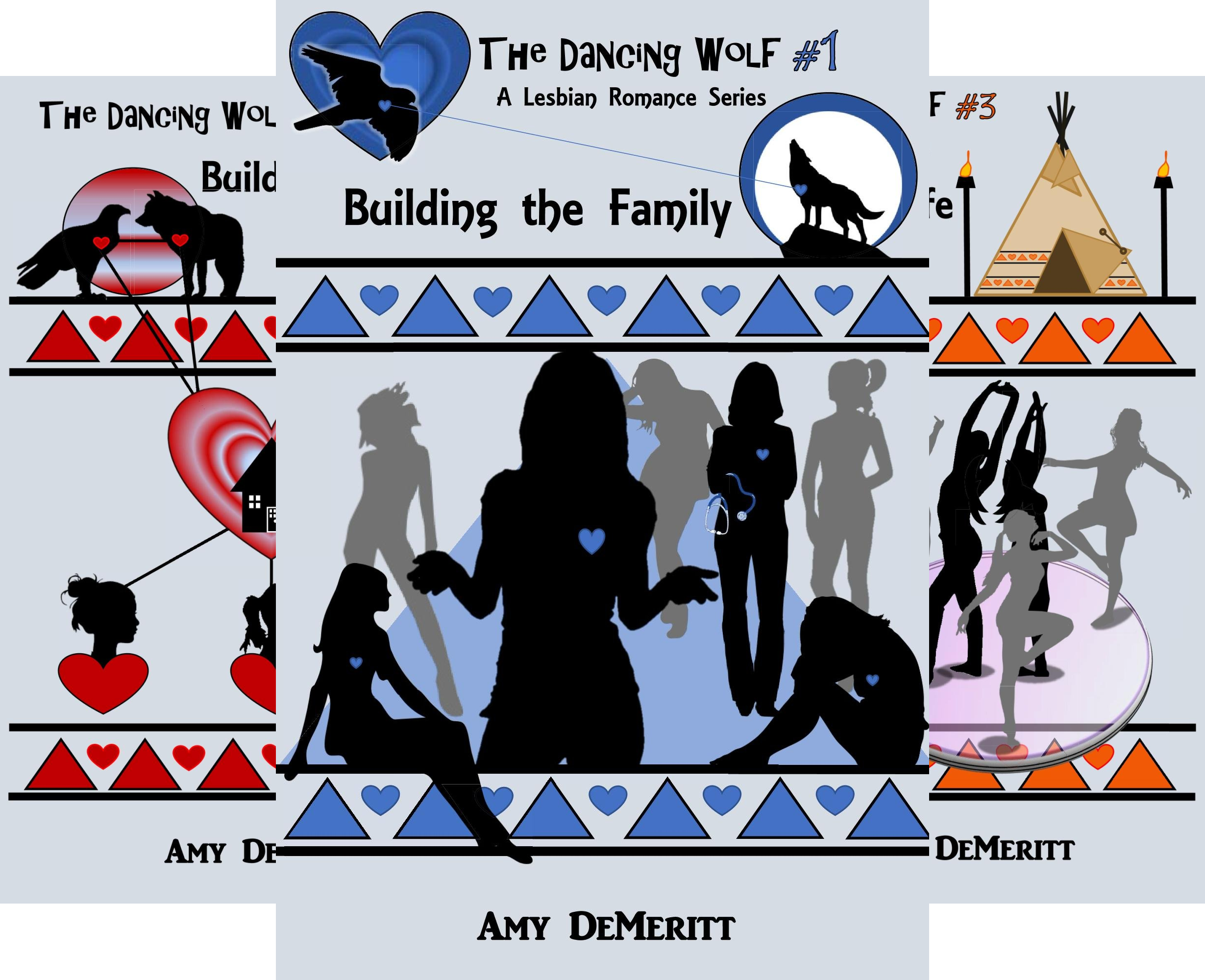 The Dancing Wolf (3 Book Series)