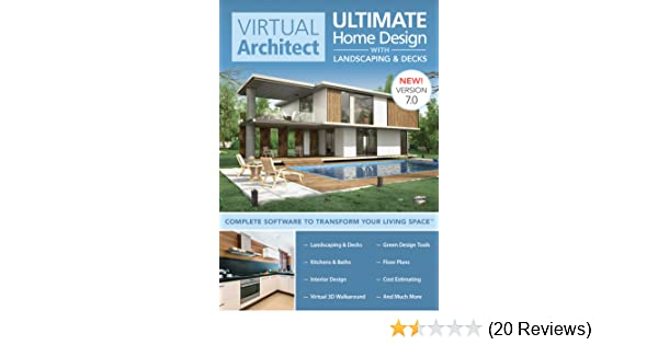 amazon com virtual architect ultimate home design with landscaping rh amazon com virtual architect ultimate home design 7.0 review virtual architect ultimate home design 7.0 review