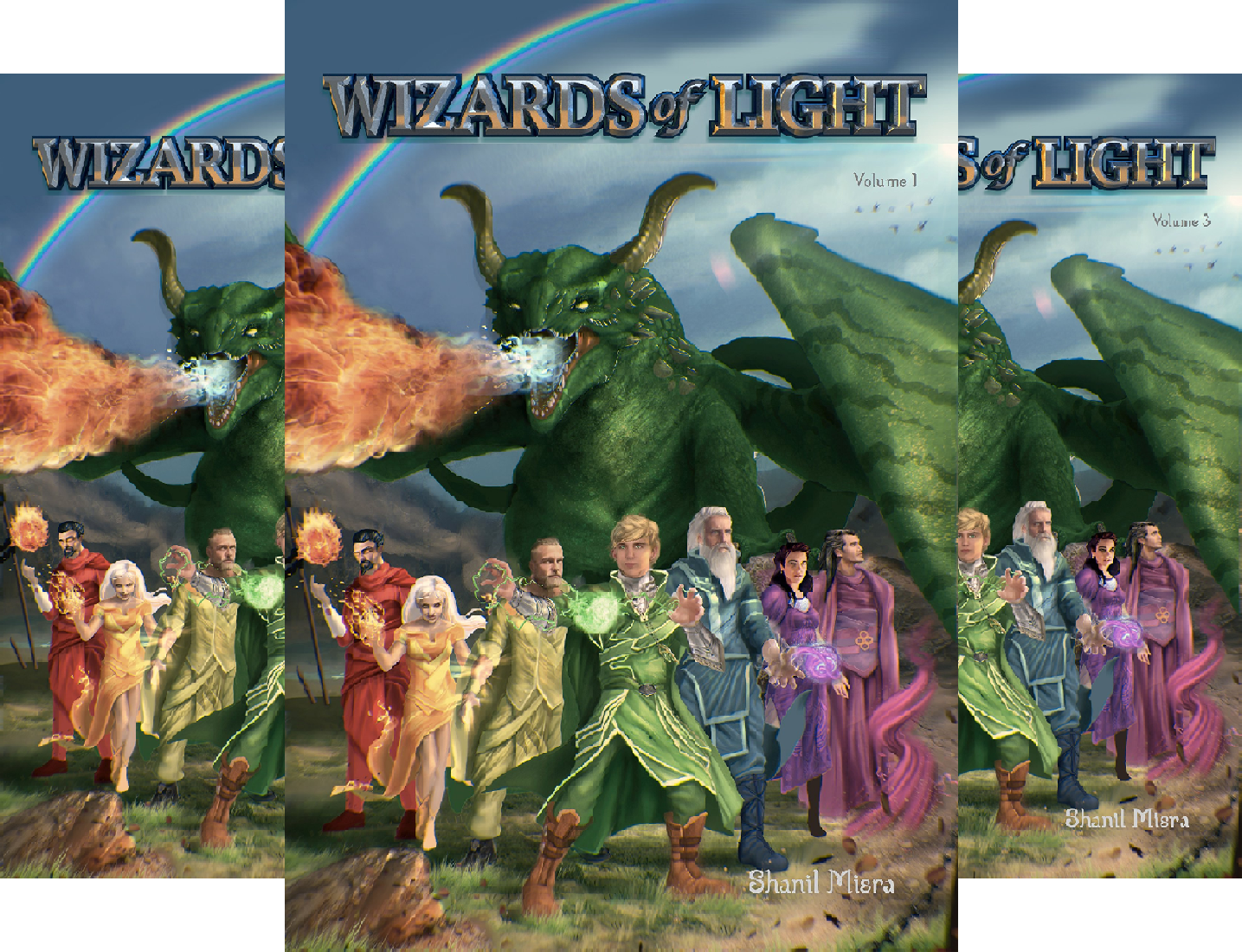 Wizards of Light (3 Book Series)