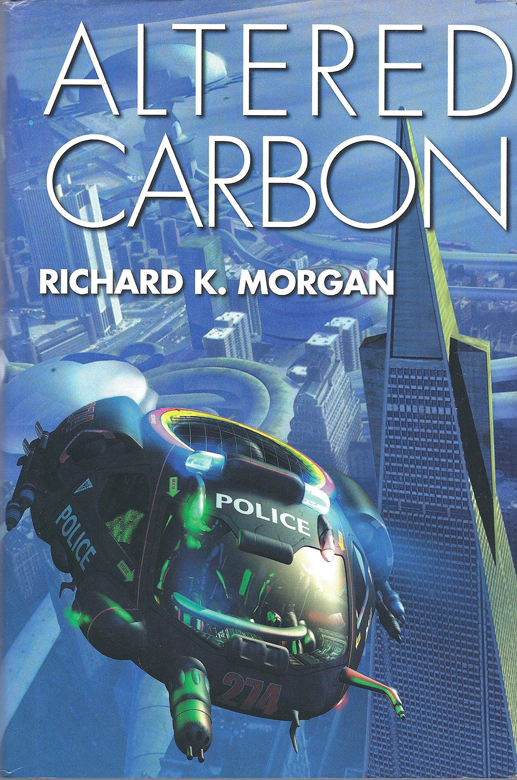 Altered Carbon: Amazon.es: Richard K. Morgan: Libros