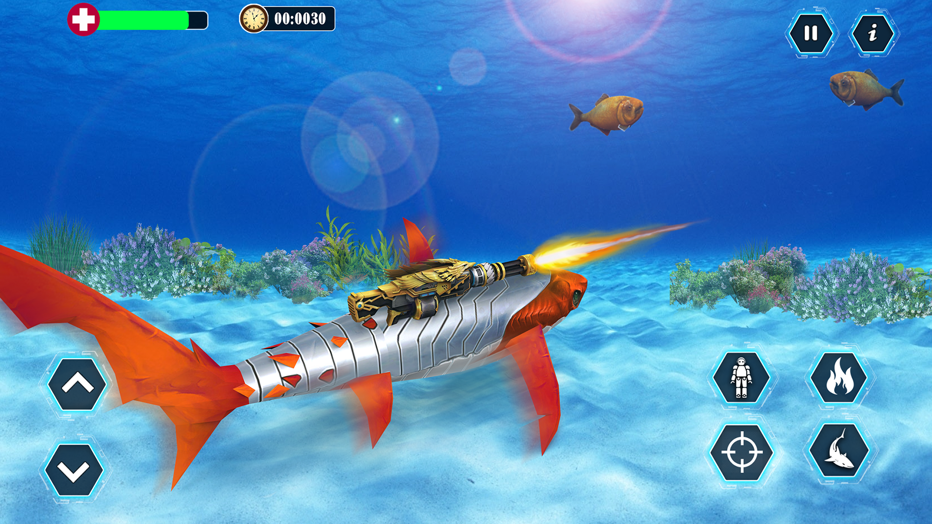 Robot Shark Transform 2018 - Shark Simulator Free: Amazon.es: Amazon.es