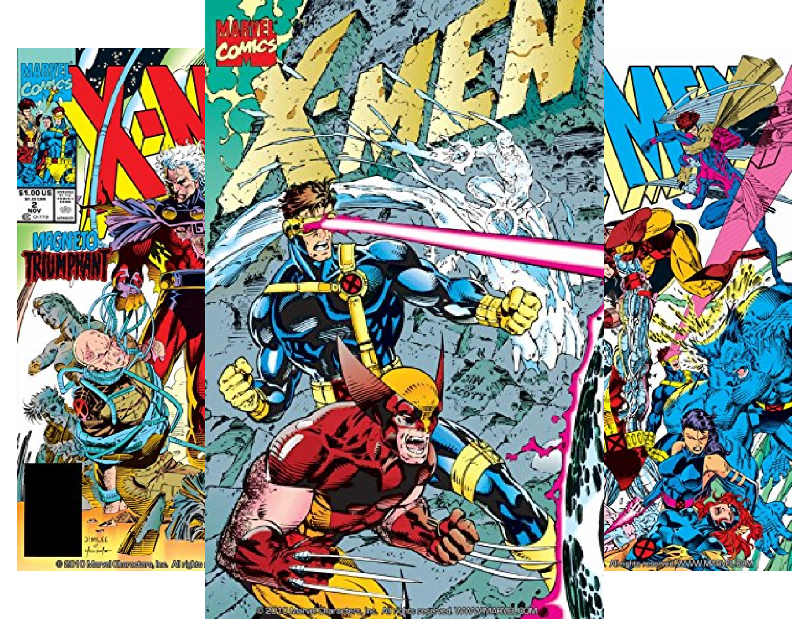 X-Men: Mutant Genesis Premiere HC #1-7 (7 Book Series)