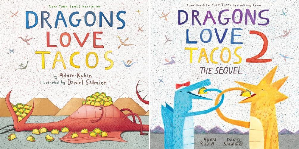 Dragons Love Tacos Book Set