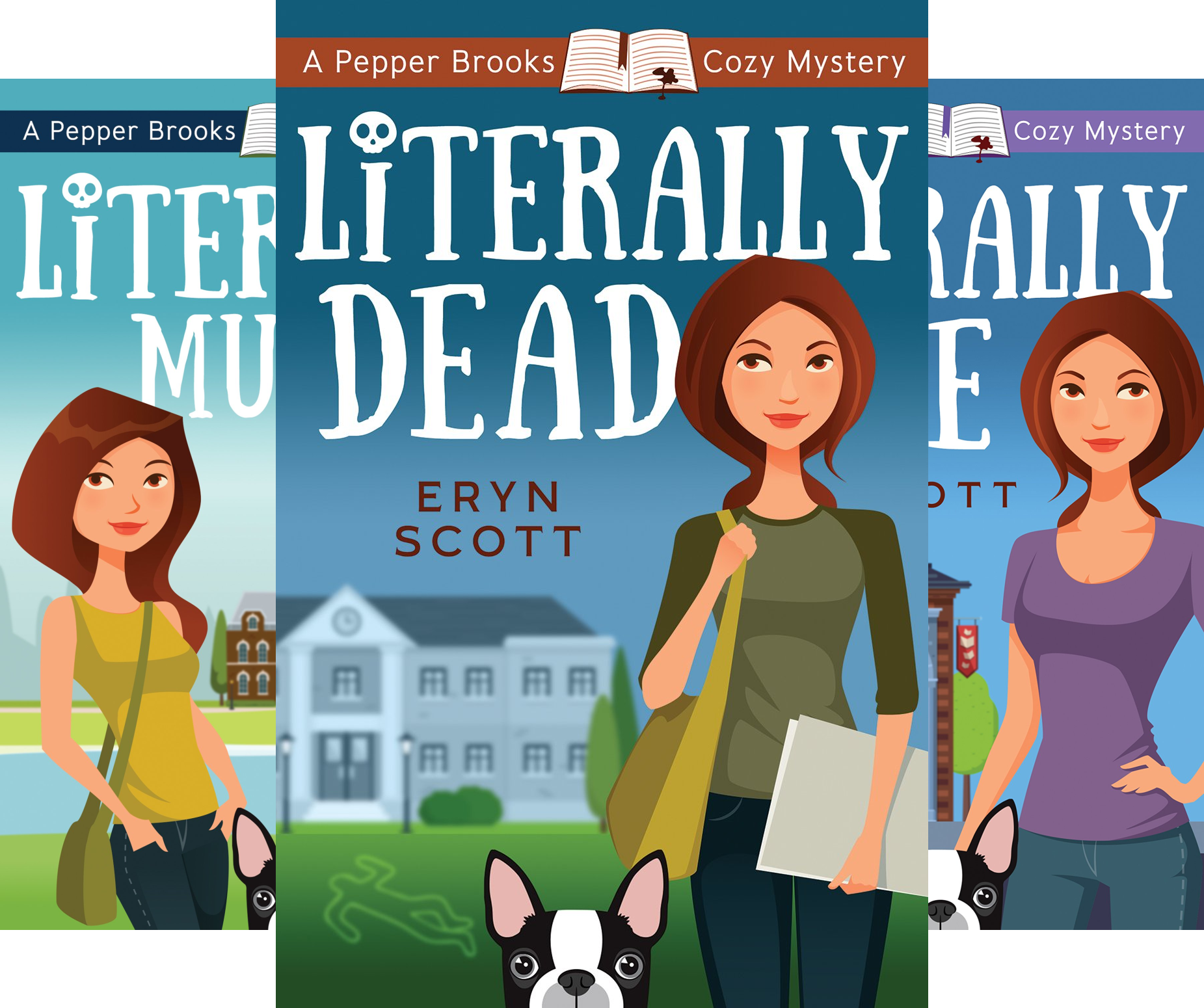 A Pepper Brooks Cozy Mystery (3 Book Series)