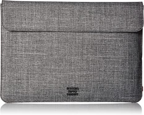 Herschel Supply Spokane 15 In Laptop Sleeve Raven Crosshatch One Size