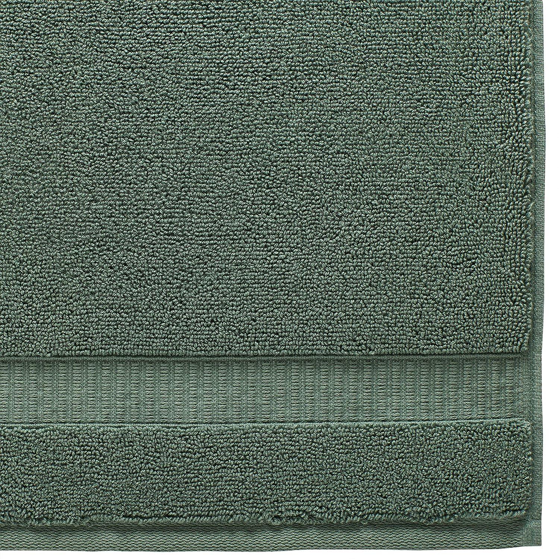 2-Pack Bright White 2DGJH 2DGJH591 Rivet HygroCotton Cotton Bath Towels