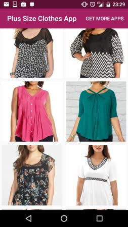 Amazon com: Plus Size Clothes App: Appstore for Android