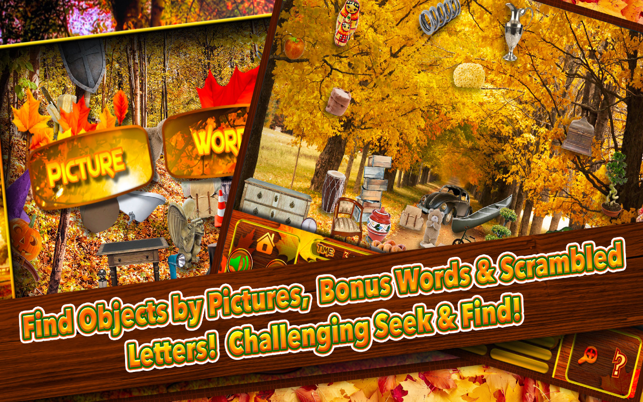 Amazon Com Hidden Objects Fall Thanksgiving Harvest Season Object Time Puzzle Photo Pic Free Game Spot The Difference Appstore For Android