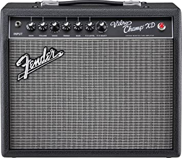 Amplificador de guitarra eléctrica Fender Vibro Champ XD