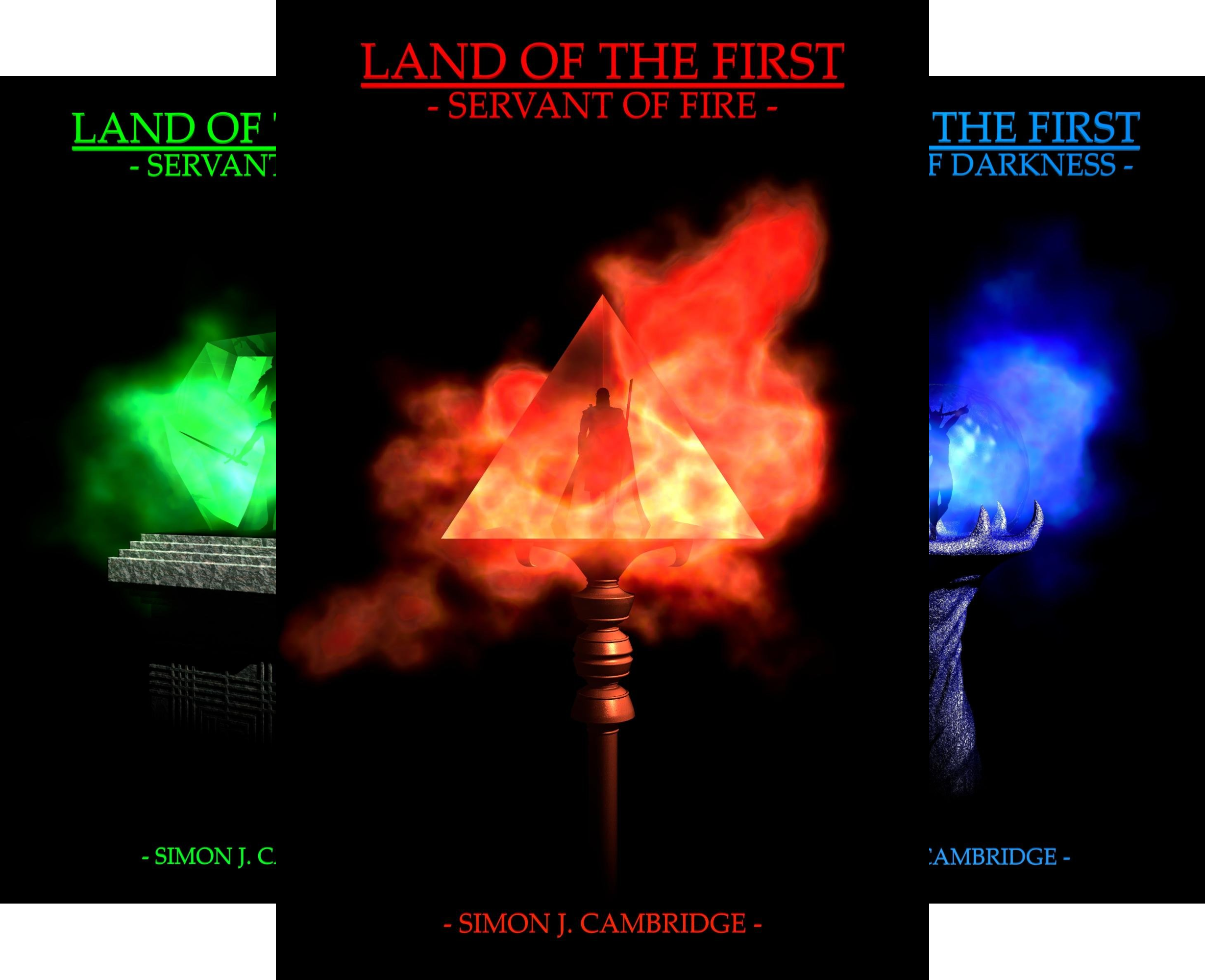 Land Of The First (3 Book Series)