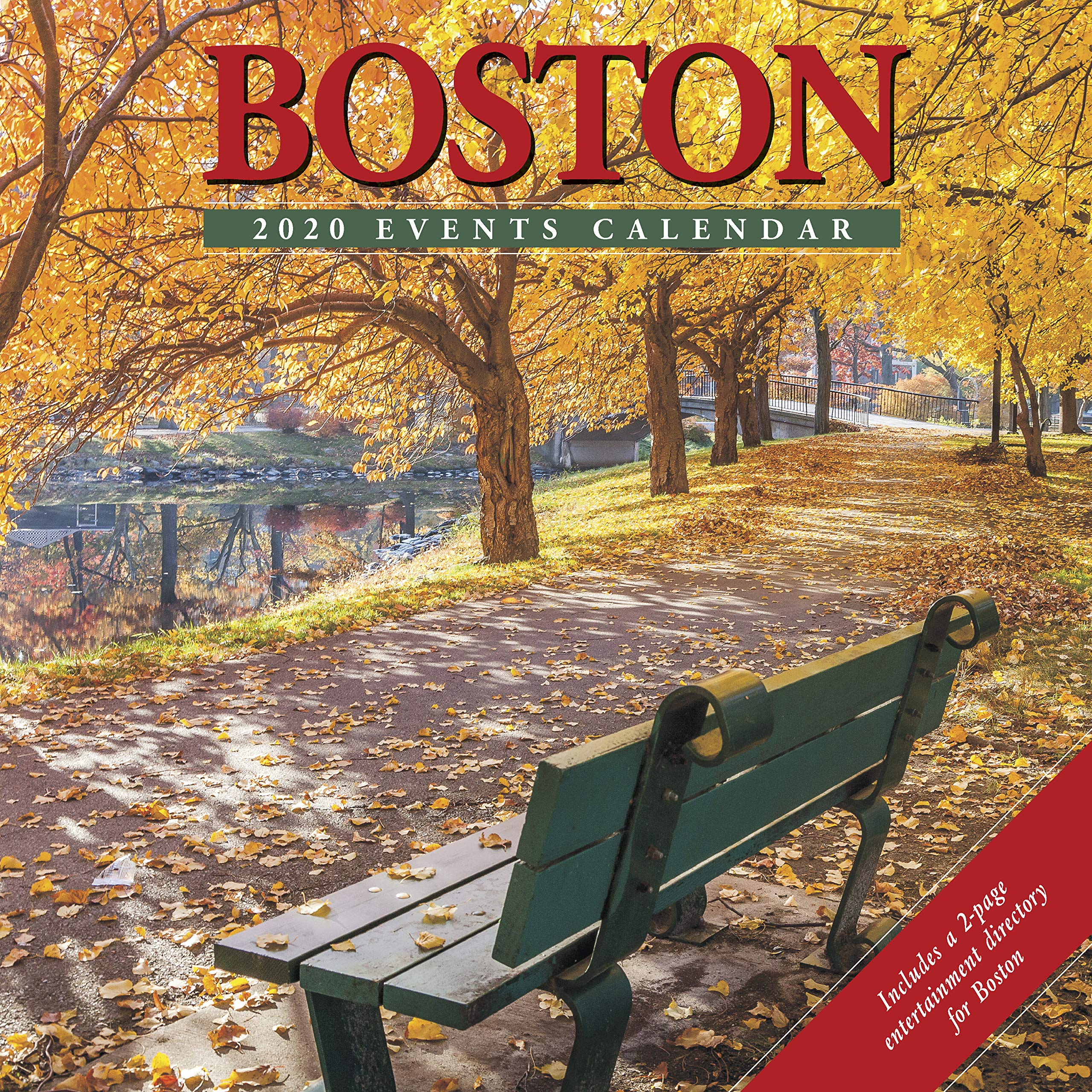 Boston Event Calendar 2020 Boston 2020 Wall Calendar: Willow Creek Press: 9781549205491