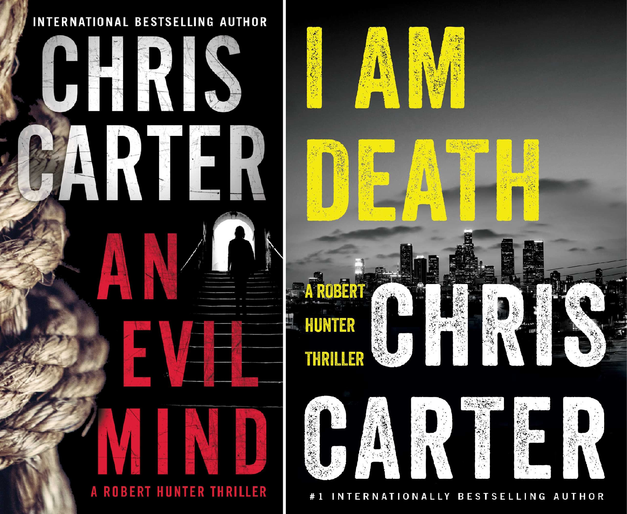 A Robert Hunter Thriller (2 Book Series)