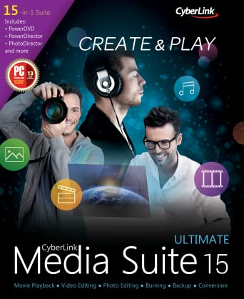 CyberLink Media Suite 15 Ultimate v15.00.051704 Retail-CORE
