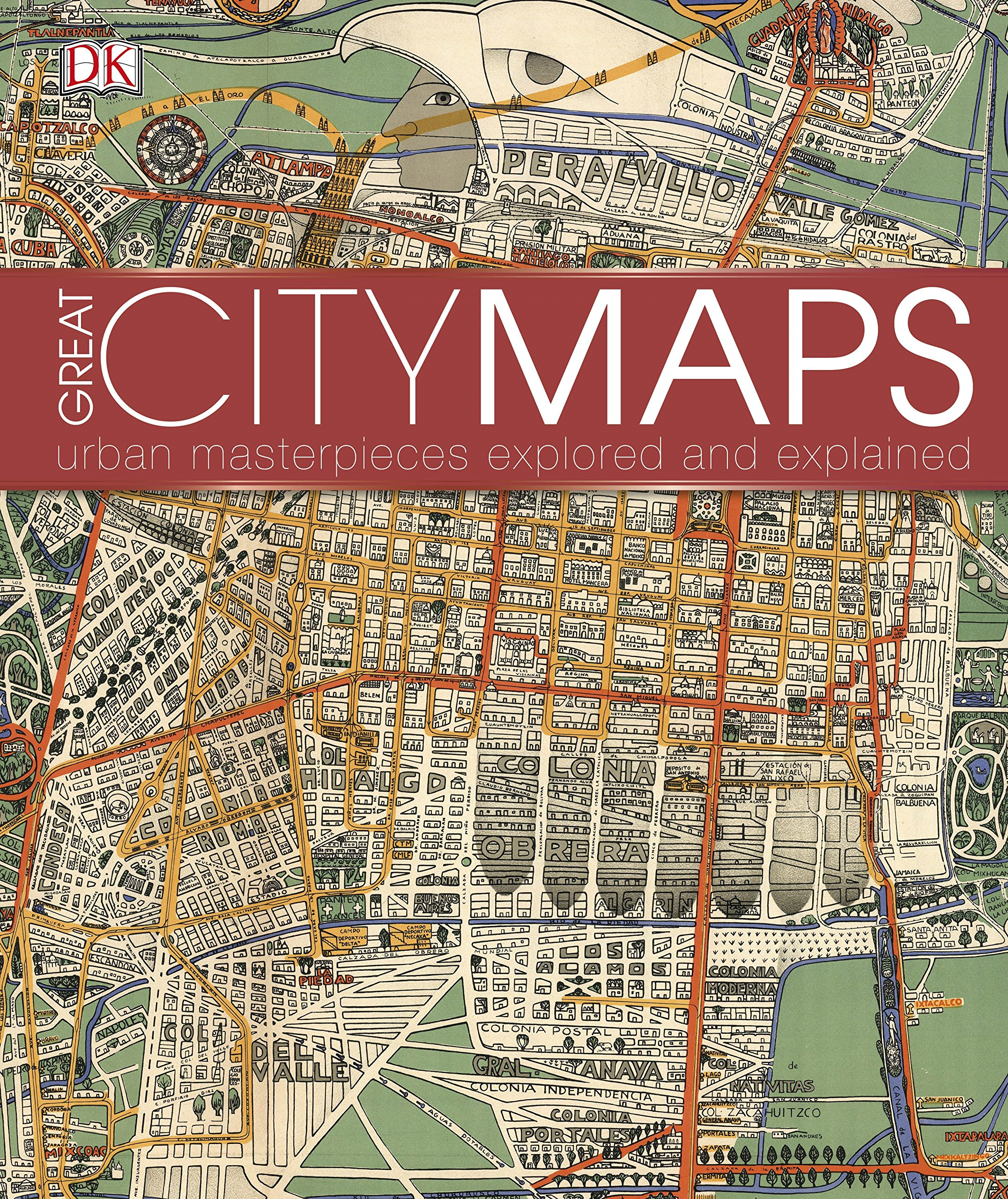 Download Great City Maps: A historical journey through maps, plans, and paintings pdf