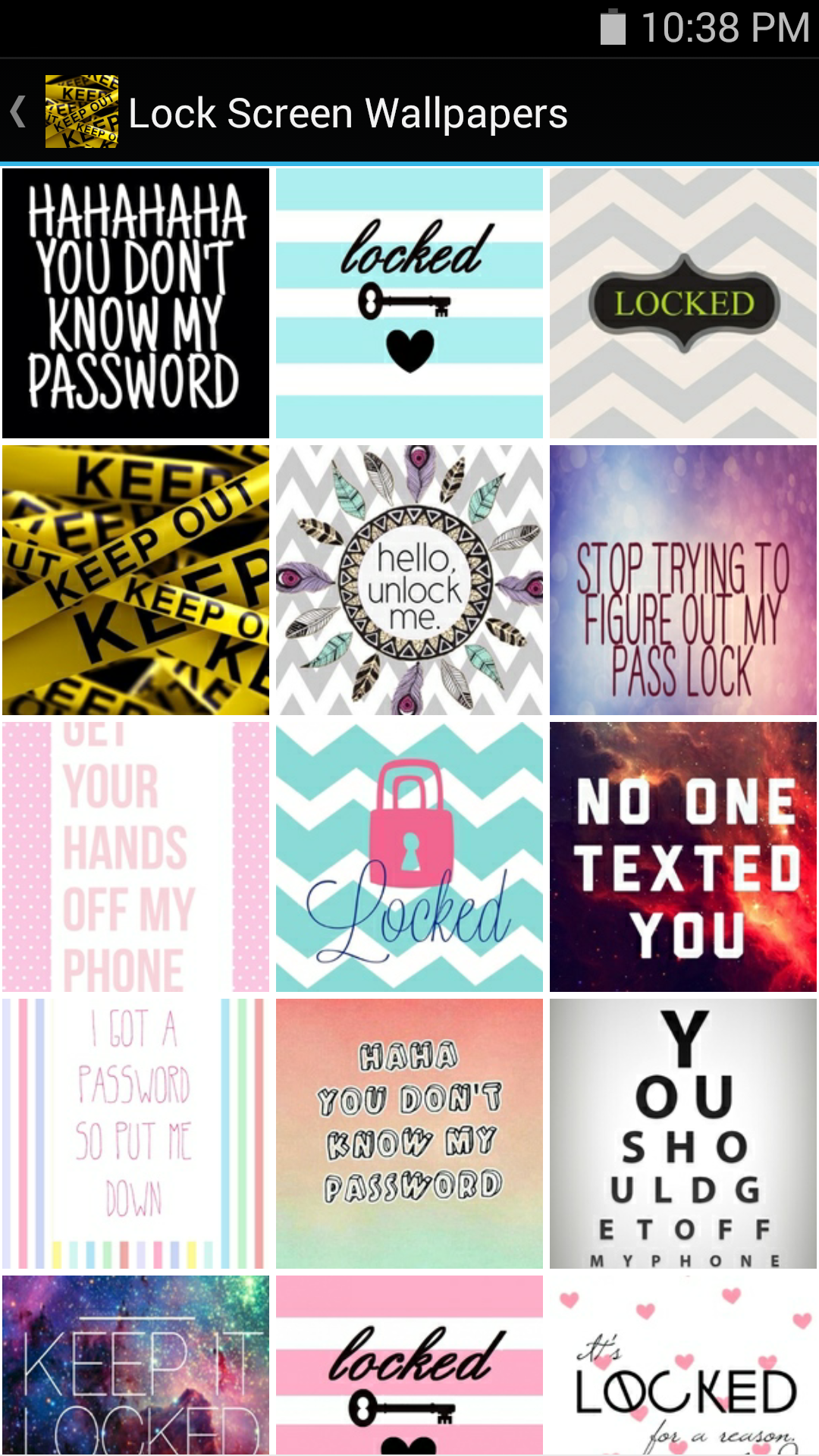 Amazoncom Lock Screen Wallpapers Appstore For Android