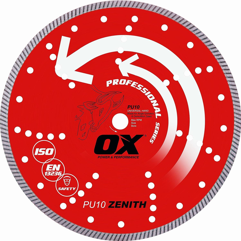 1-20mm Bore OX Tools 14 Universal Superfast Diamond Blade