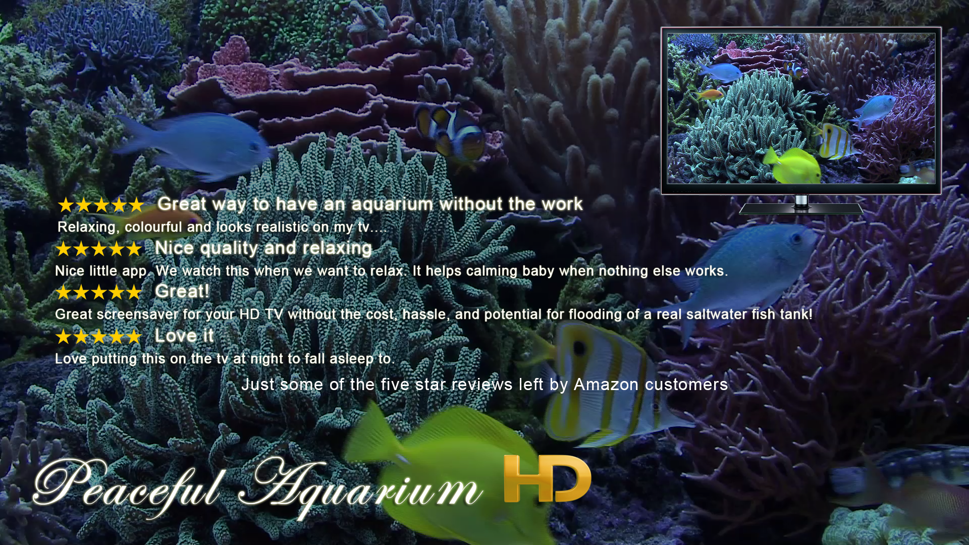 Amazon Peaceful Aquarium HD Appstore for Android
