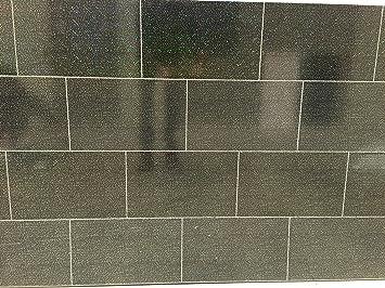 Il rivestimento store cutline nero effetto pioggia per piastrelle