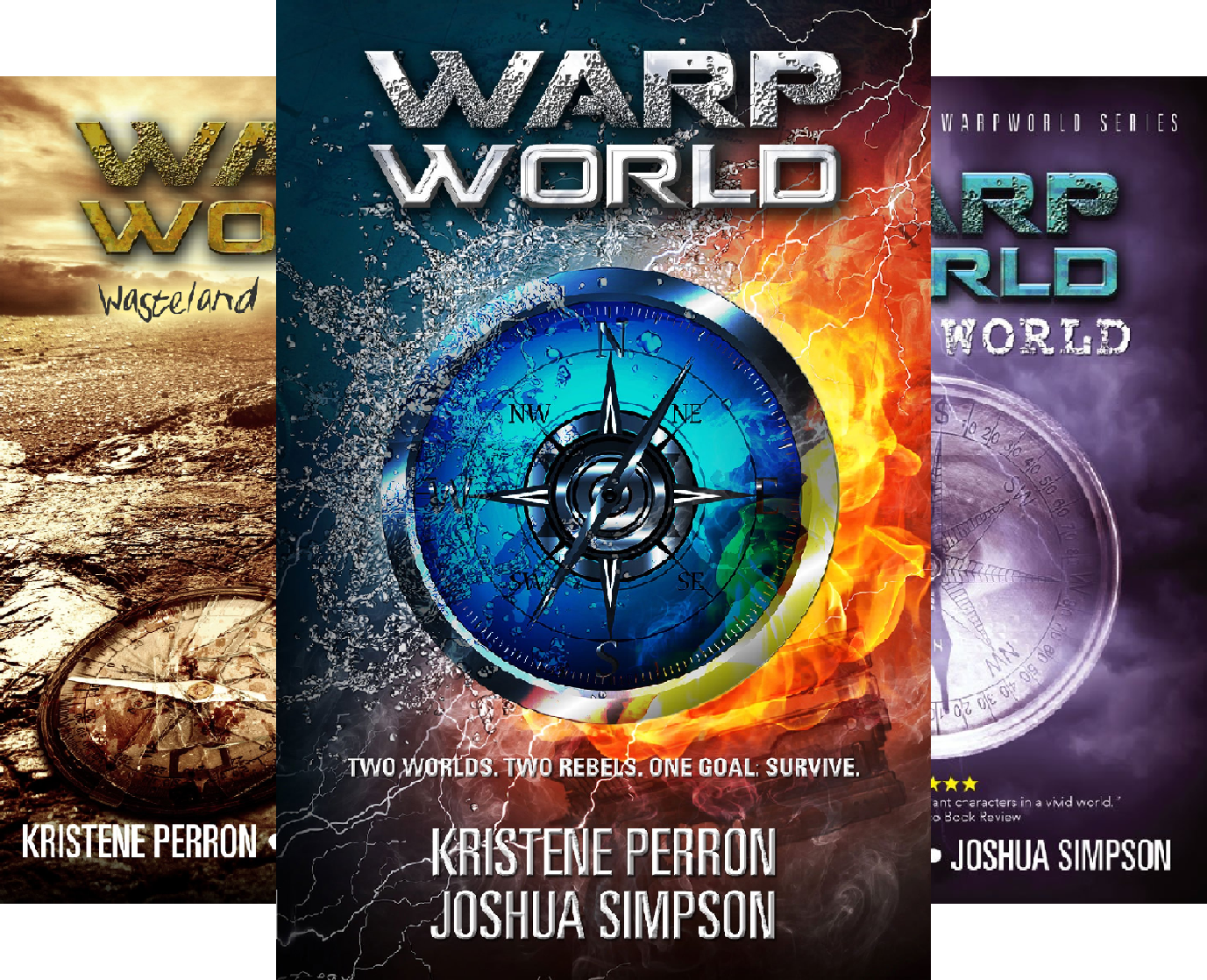 Warpworld (4 Book Series)