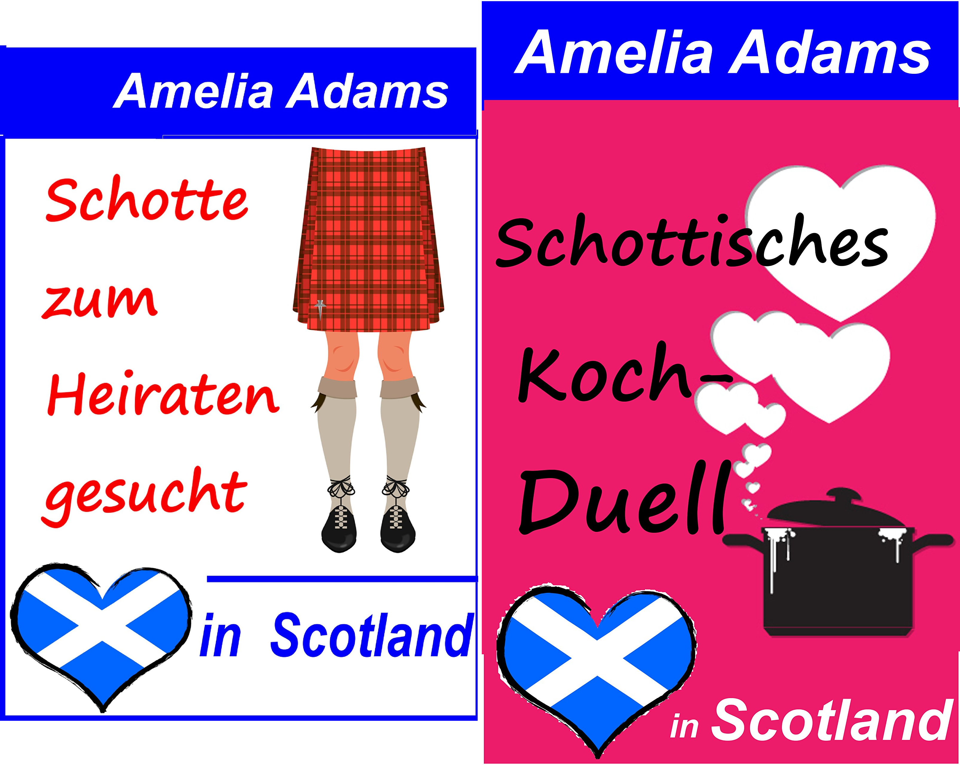 Love in Scotland (Reihe in 2 Bänden)