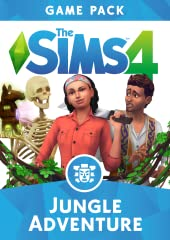 Take your Sims on a mysterious adventure into the wild and discover a new culture with The Sims 4 Jungle Adventure*. Explore a unique wilderness landscape, revealing a temple, jungle obstacles, cursed relics, and treasures.  Experience...