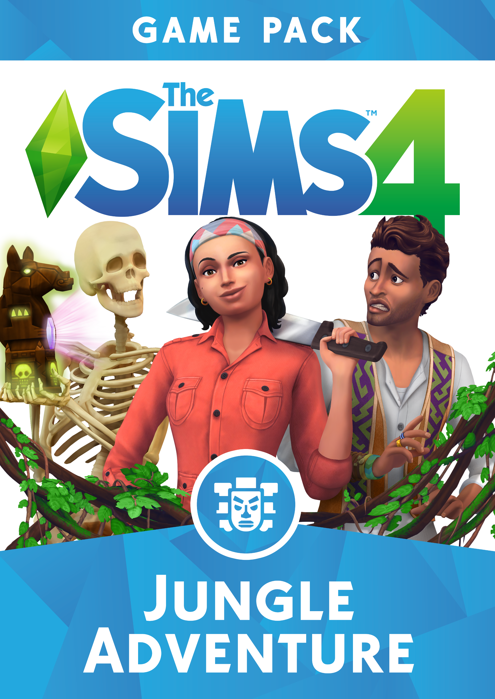 The Sims 4 Jungle Adventure [Online Game - Sim Create A 4 Sims
