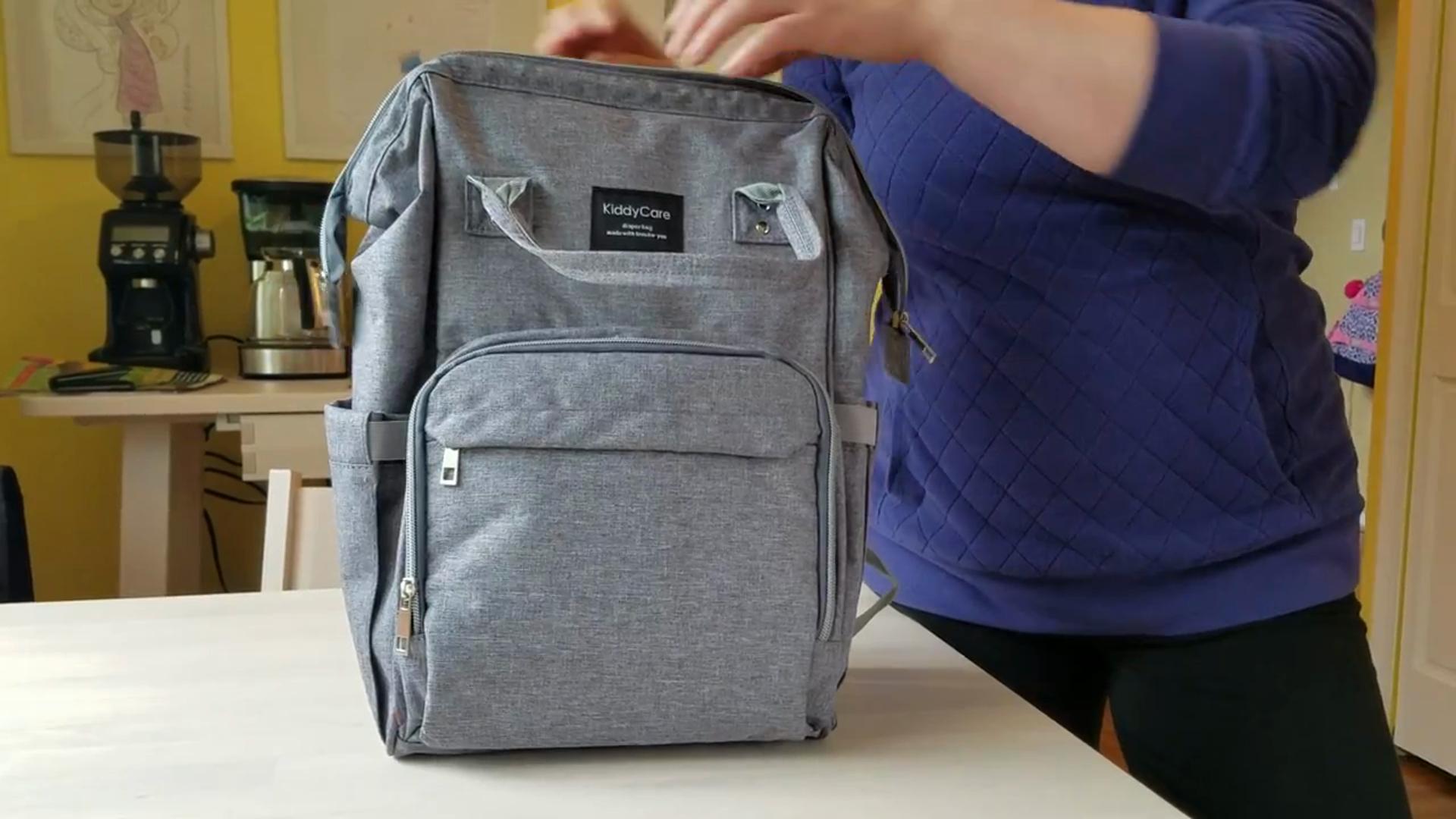 a4e6041f4412c KiddyCare diaper bag backpack review