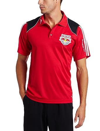 adidas MLS Nueva York Rojo Bulls Clima Polo, Hombre, Toro, White ...