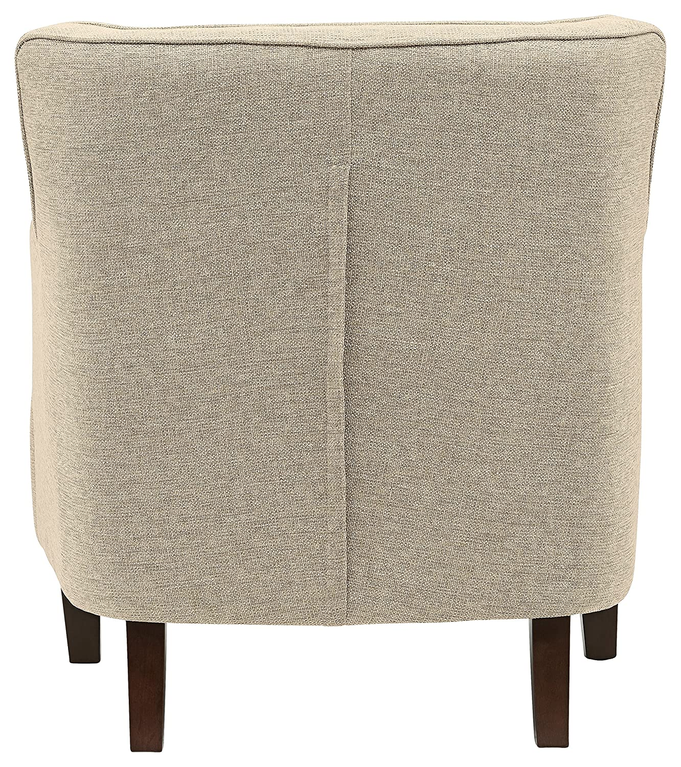 Stone Beam Decatur Modern Tufted Accent Chair, 32 W, Chair, Oatmeal