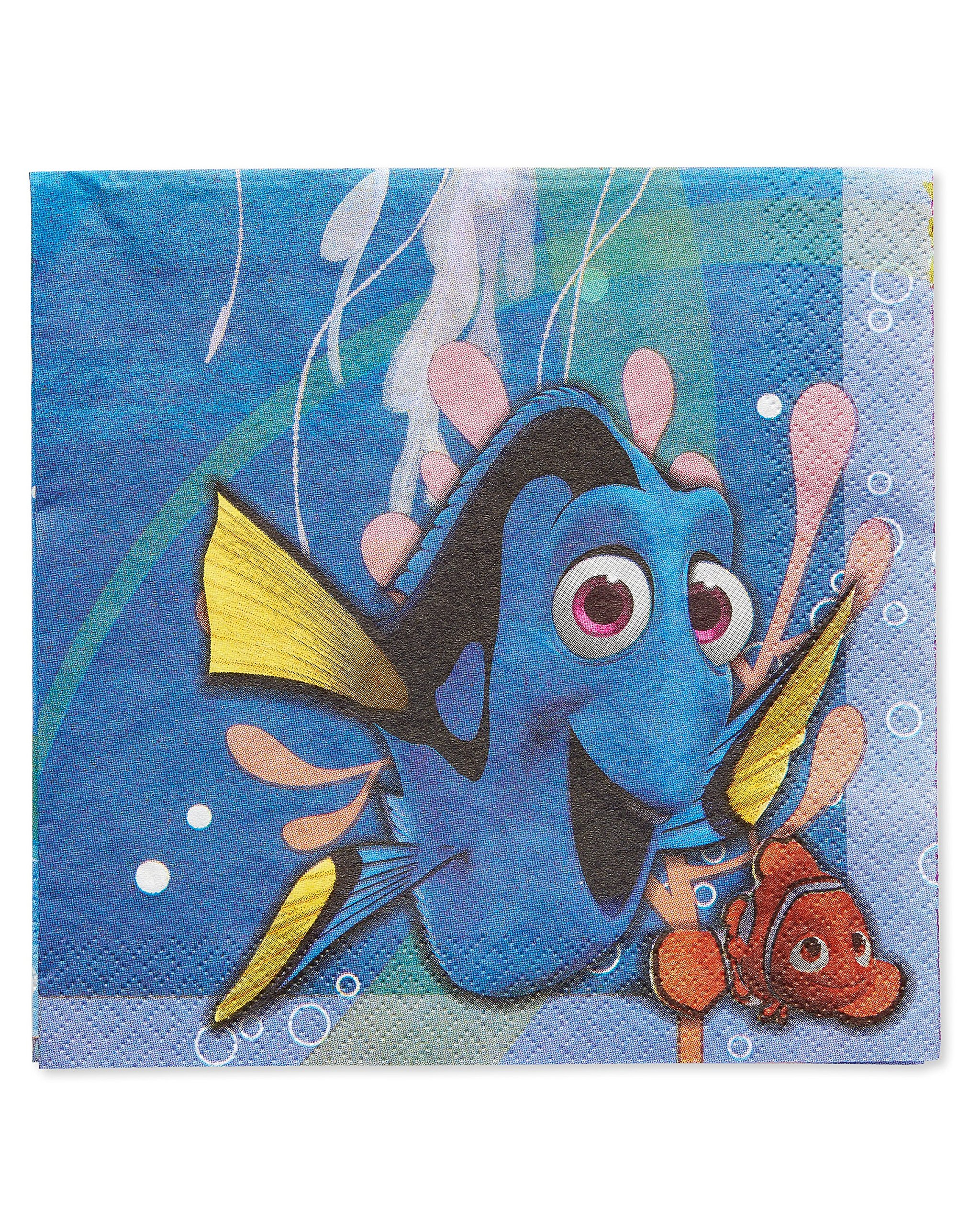American Greetings Finding Dory Lunch Napkins (16 Count) by American Greetings