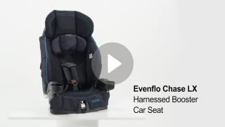 Amazon Evenflo Chase Harnessed Booster Jameson Baby