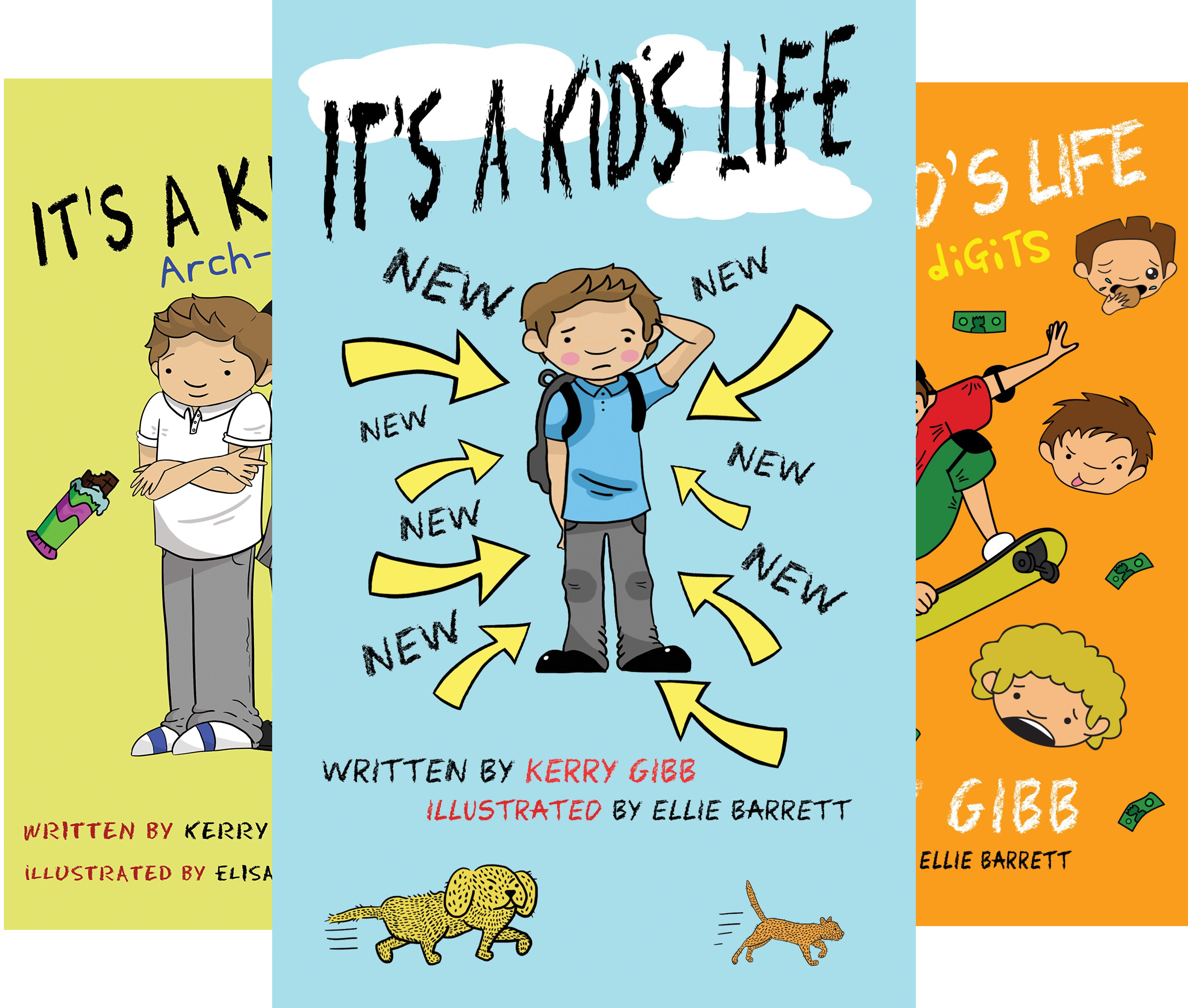 It's A Kid's Life (3 Book Series)