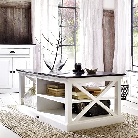 Outstanding Amazon Com Halifax White Distressed Coffee Table And Sofa Machost Co Dining Chair Design Ideas Machostcouk