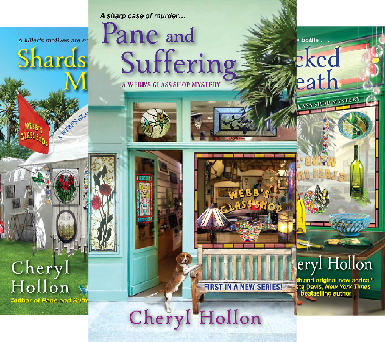 A Webb's Glass Shop Mystery (6 Book Series)